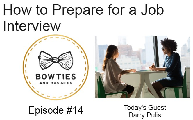 How to prepare for a job Interview