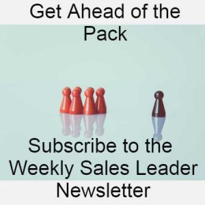 Subscibe to the weekly sales leader news letter
